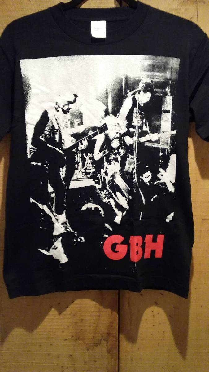 G.B.H 来日Tシャツ DISCHARGE GAUZE DEATH SIDE SLANG