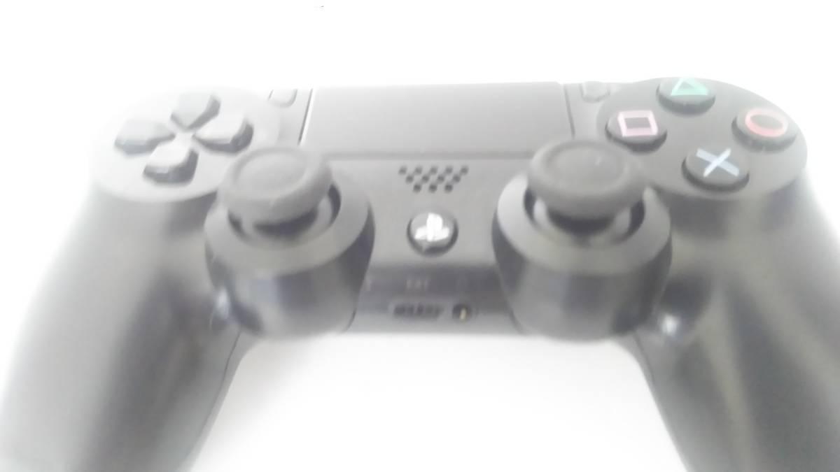 ☆ PS4 ☆ デュアルショック4 ワイヤレスコントローラー ジェットブラック 中古 動作良好 状態良好 SONY_画像3