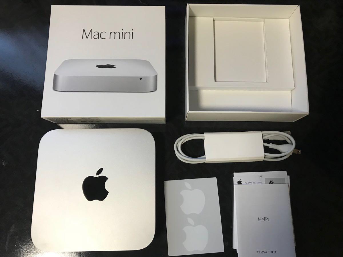 Mac mini 2012 BTO (MD389J/A)[Core i7(3720QM)2.6Ghz/RAM:16G/Fusion Drive SSD:128G+HD