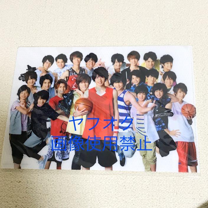 ★新品★即決!ガムシャラ! summer STATION 2015 ジェシー 松村 安井 クリアファイル