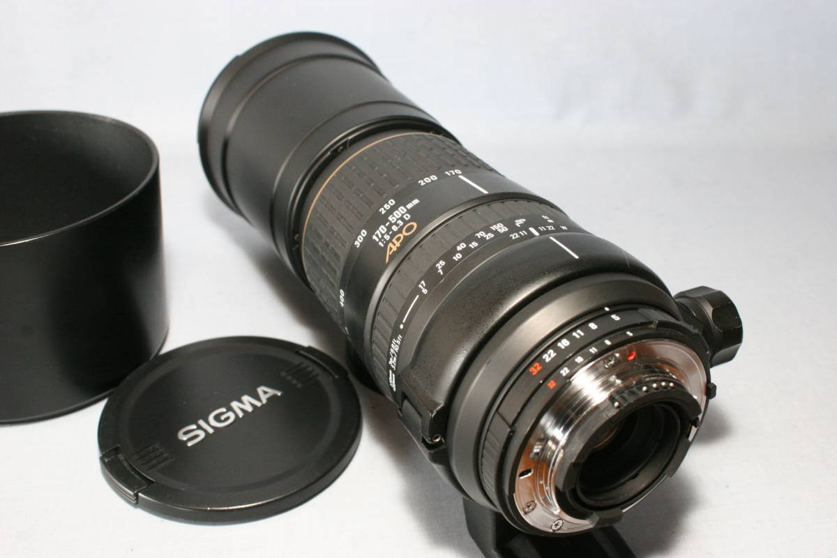 超望遠ズ-ム/SIGMA APO 170-500mm 1:5-6.3D ニコン用