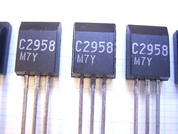 Halfgeleiders, transistors 2SC-2958 NEC TRANSISTOR C2958 2SC2958