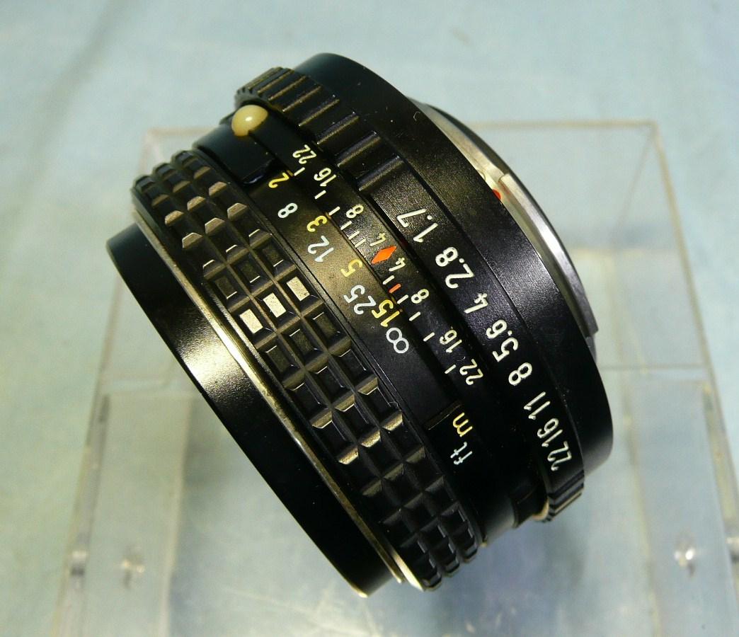 ★動作品★PENTAX K2 DMD ブラックボディ + SMC PENTAX-M 50mm F1.7 中古品ジャンク扱い_画像9