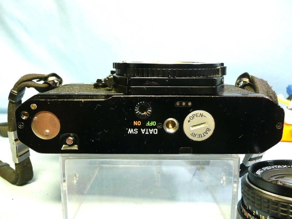 ★動作品★PENTAX K2 DMD ブラックボディ + SMC PENTAX-M 50mm F1.7 中古品ジャンク扱い_画像7