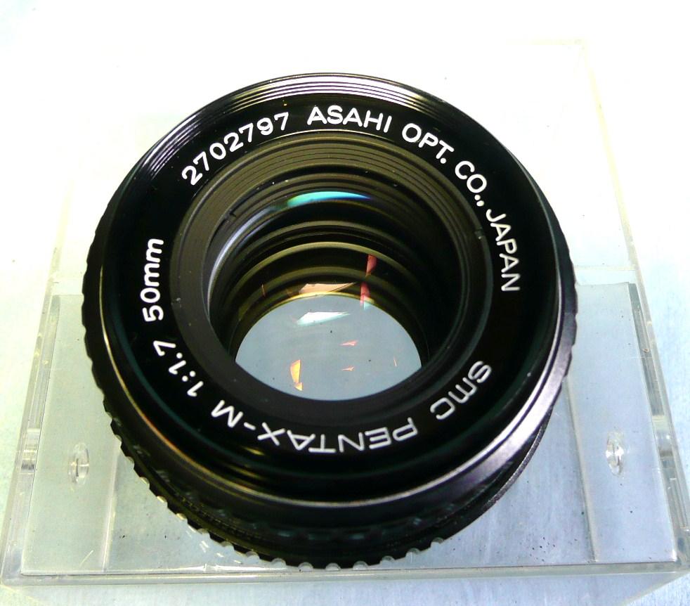 ★動作品★PENTAX K2 DMD ブラックボディ + SMC PENTAX-M 50mm F1.7 中古品ジャンク扱い_画像8