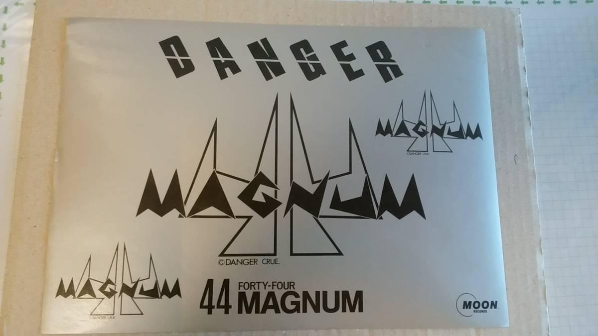 ロック/ステッカー 44マグナムステッカー 日本ハードロック ヘビーメタル MOON RECORDS