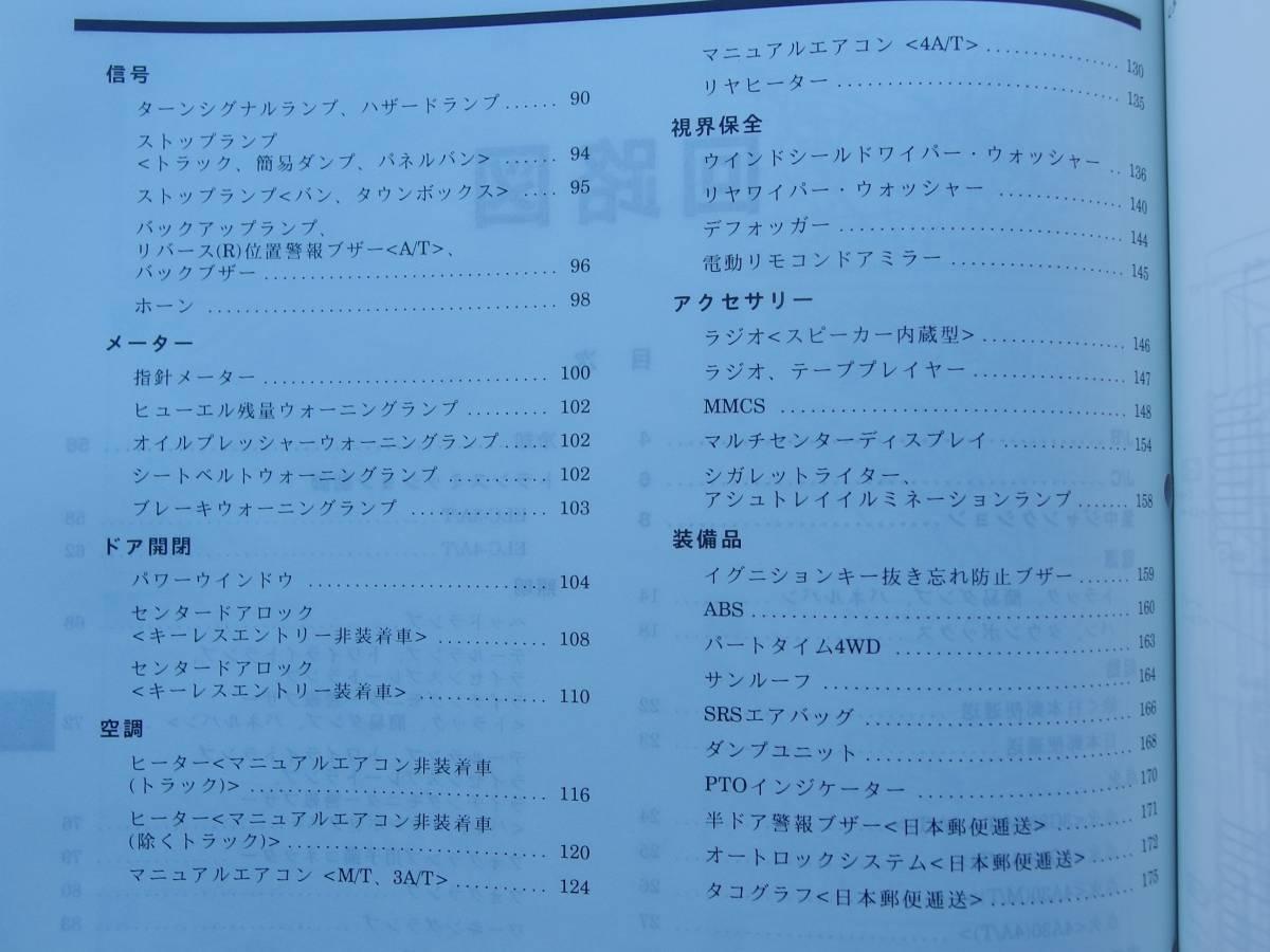 New Goods Minicab Town Box Maintenance Manual Electric Mitsubishi U62t Wiring Diagram Compilation