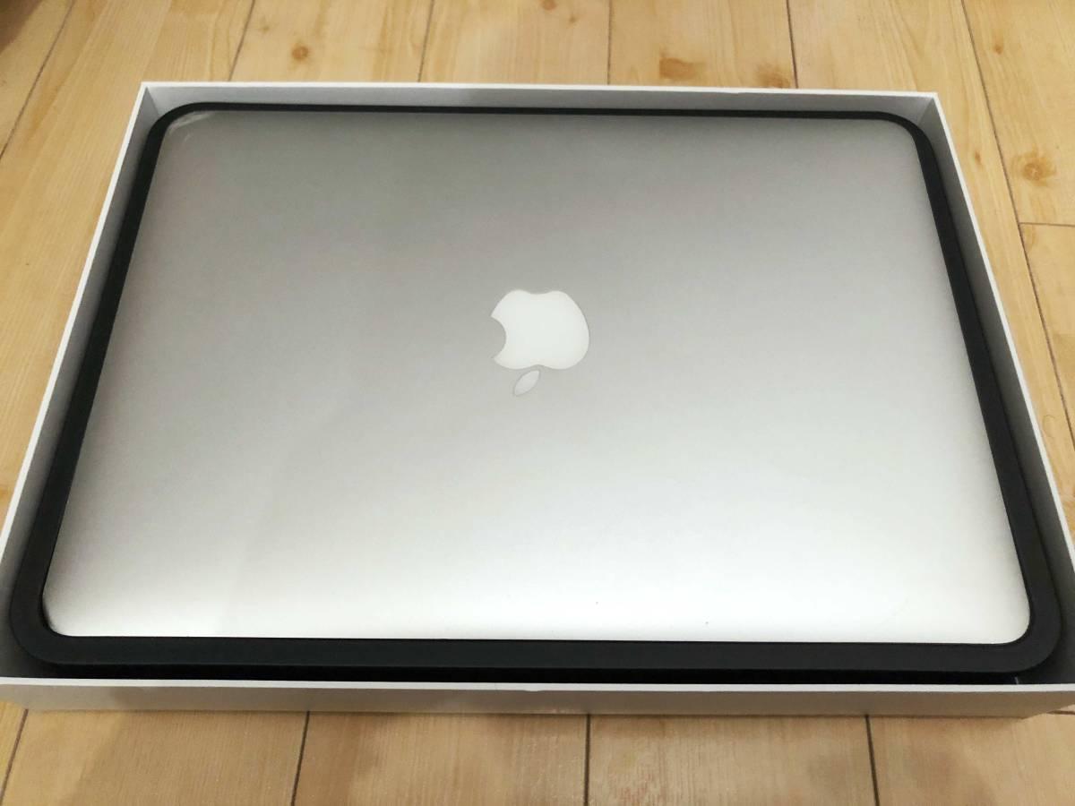 【完動品】Apple MacBook Air 13inch SSD 256GB core i5 メモリ4GB MD761J/A (Mid 2013)【元箱付き】