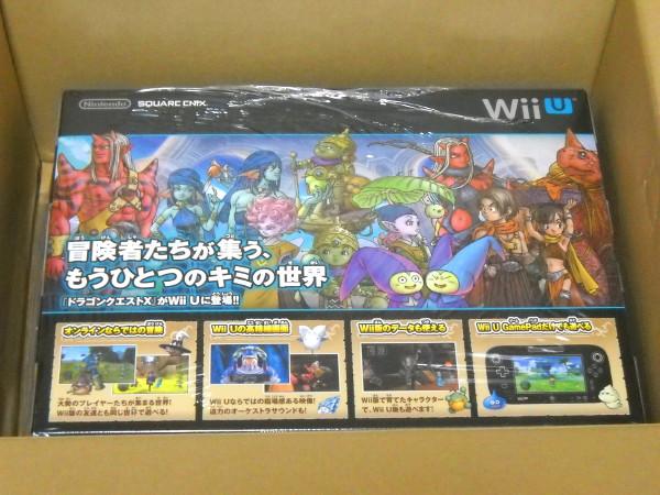新品未開封 ドラゴンクエスト10 WiiU プレミアムセット