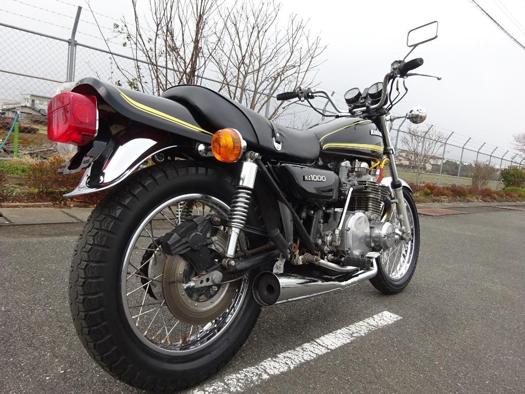 Kawasaki KZ1000 A2 実動ベース車両 (Z1 Z2 Z750RS KZ900 LTD MK2 KZ650 D1)_画像8