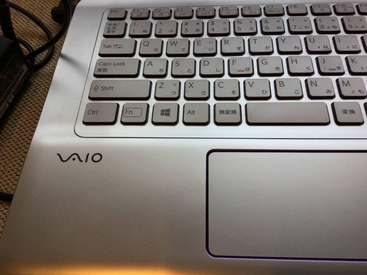 VAIO SVE14A39CJS 部品取り用 1円~_画像4