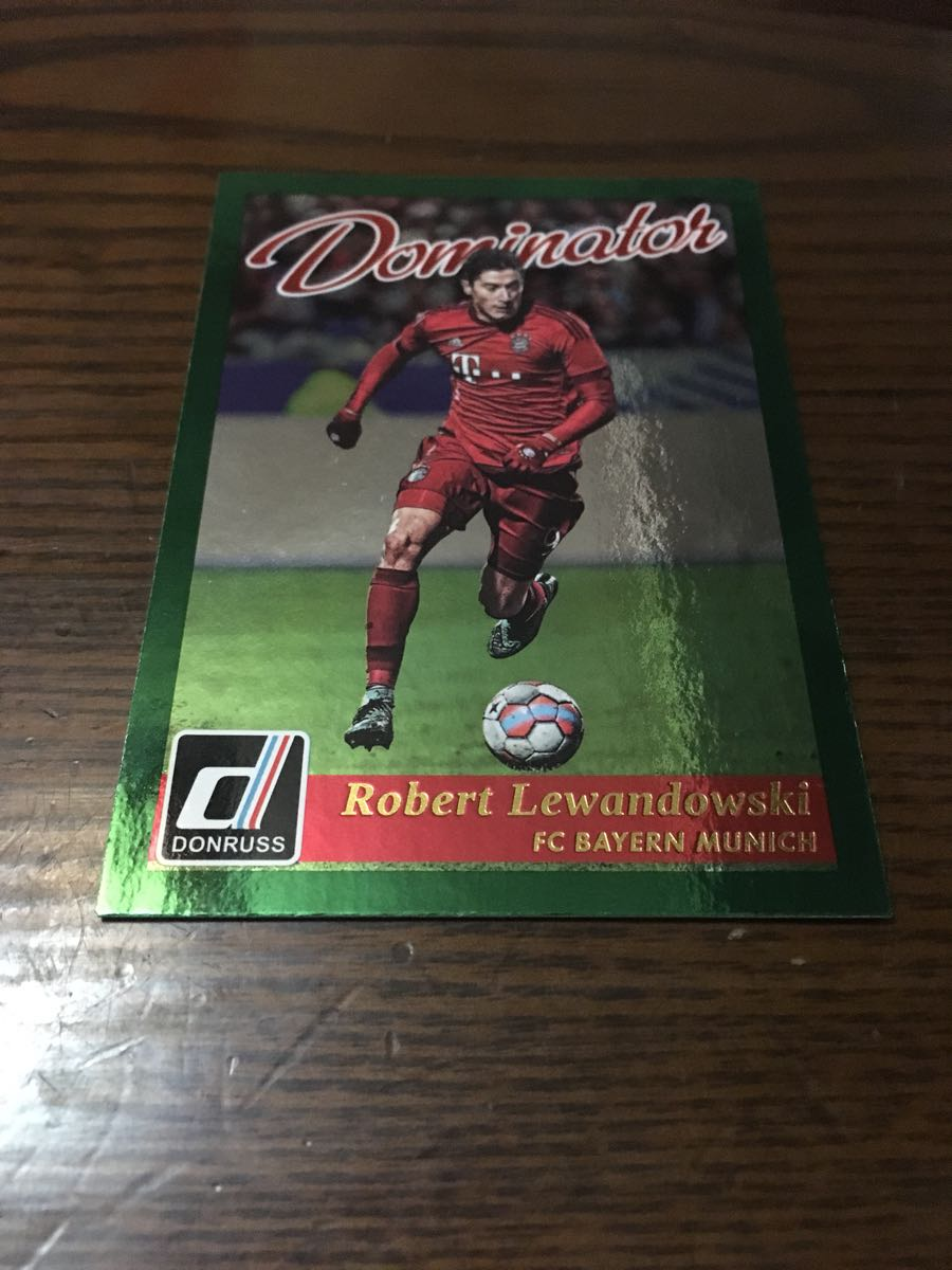 PANINI DONRUSS 2016-17 Dominators #1 Roberto Lewandowski FCバイエルン