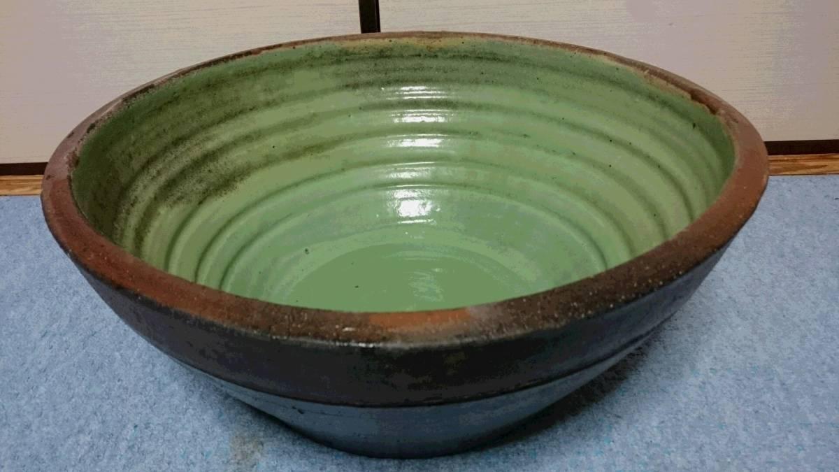 大鉢 陶器製 径約49.5cm×高さ21cm 002 金魚鉢 めだか