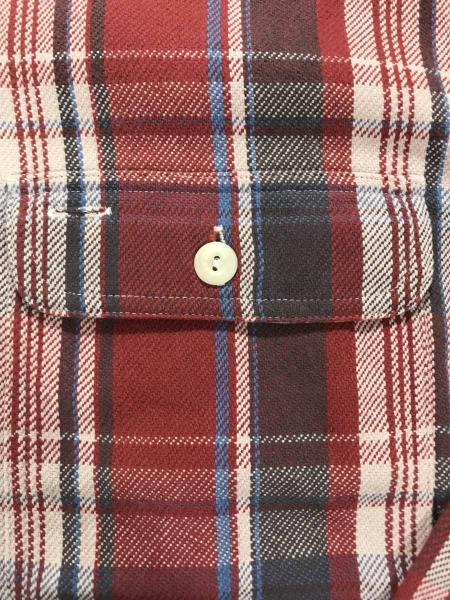 新品 10773 rugby Sサイズ シャツ ポロ ラルフローレン polo ralph lauren ラグビー ビンテージ ネル チェック_画像3