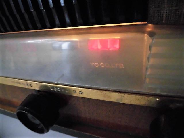 ONKYO/オンキョー OS-75型 真空管ラジオ 音響の高級ラジオ 木製・ST管・7球スパー 動作品 S31 アンティーク ラジオ!_画像8