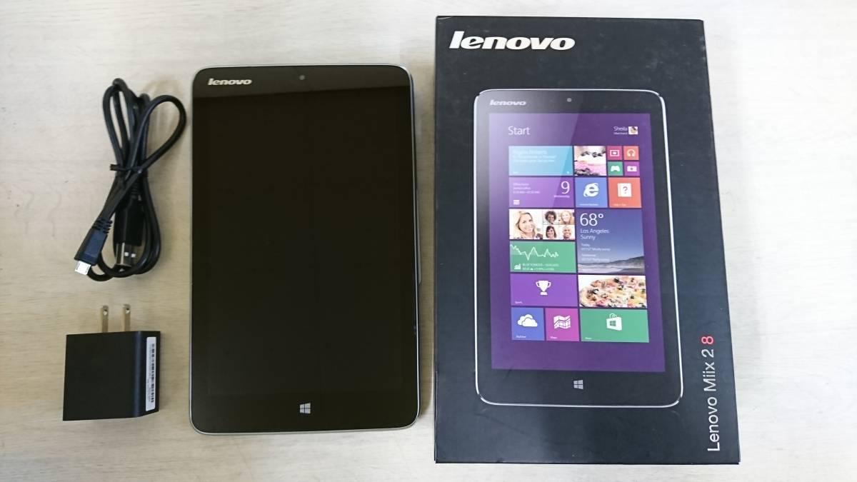 ジャンク Lenovo レノボ IdeaPad Miix2 8 ( Atom Z3740 / 64GB / 2GB / Win8.1 / 8型HD IPS / ブラック)
