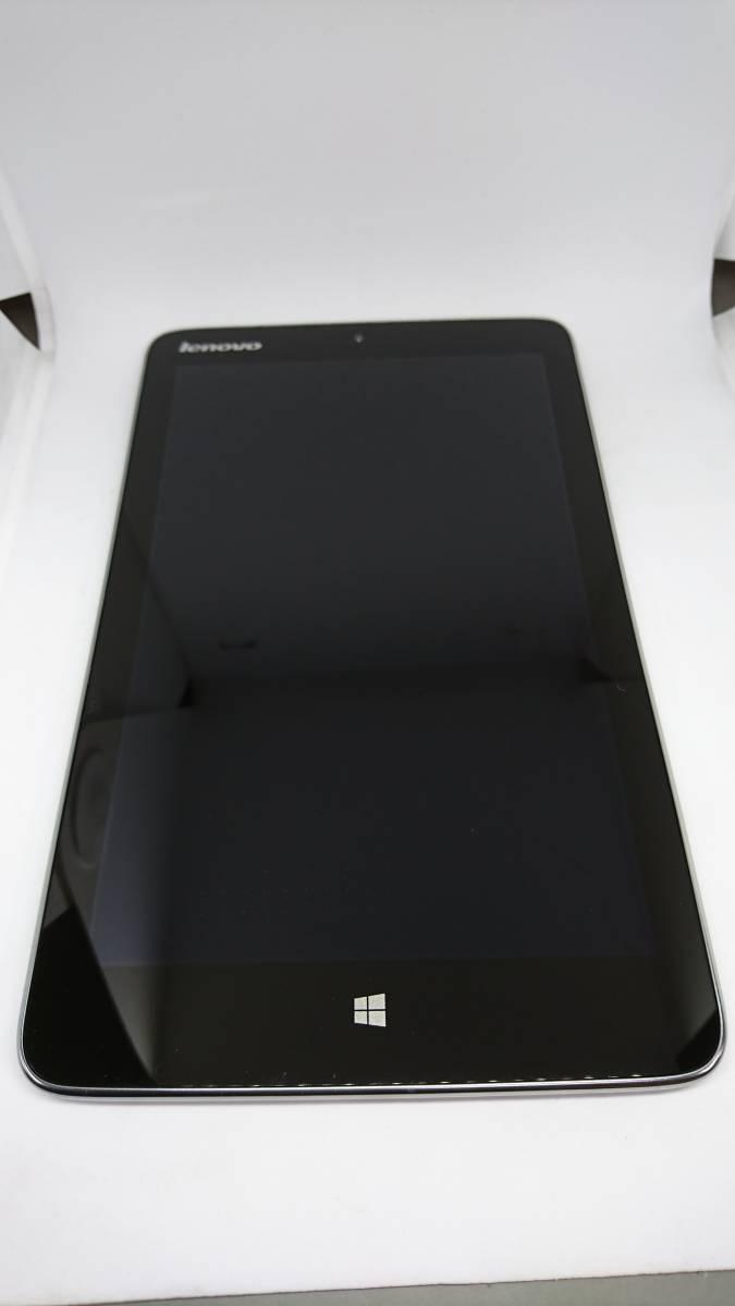 ジャンク Lenovo レノボ IdeaPad Miix2 8 ( Atom Z3740 / 64GB / 2GB / Win8.1 / 8型HD IPS / ブラック)_画像3