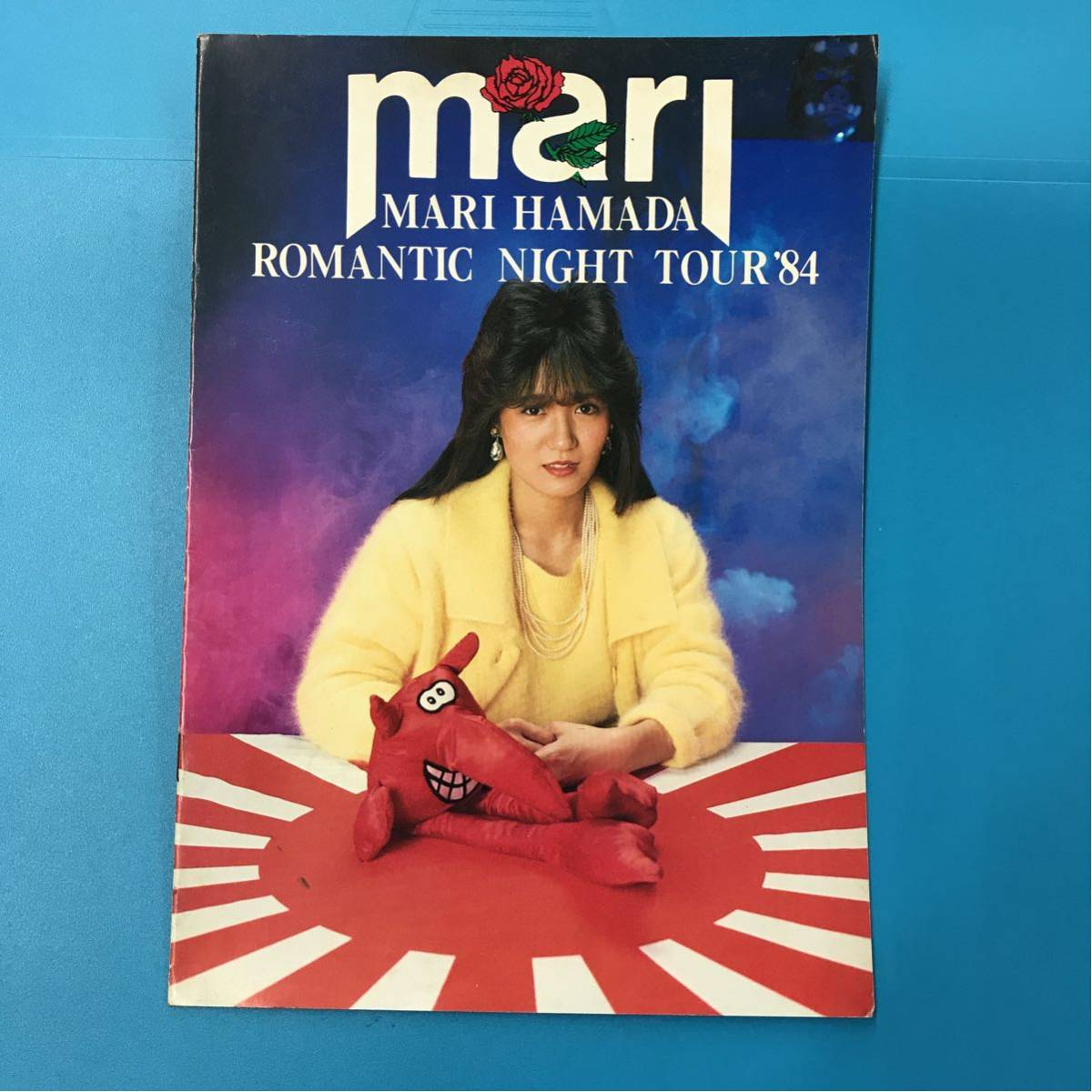 浜田麻里 ツアーパンフレット 1984 ROMANTIC NIGHT TOUR 同梱発送可