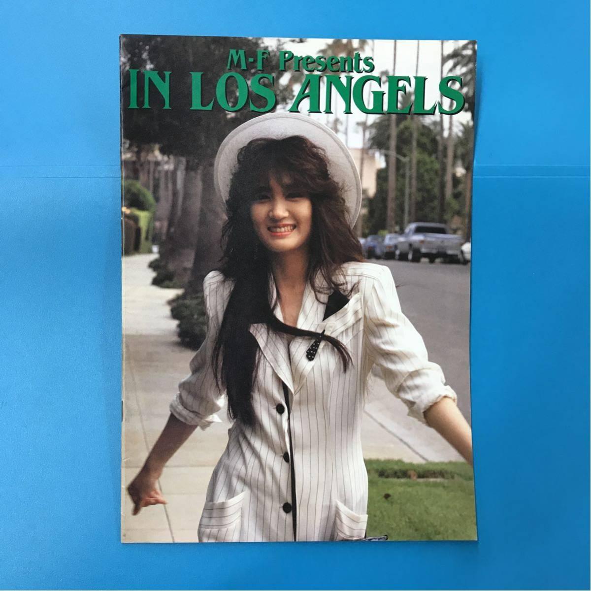 浜田麻里? パンフレット 1987 IN LOS ANGELS
