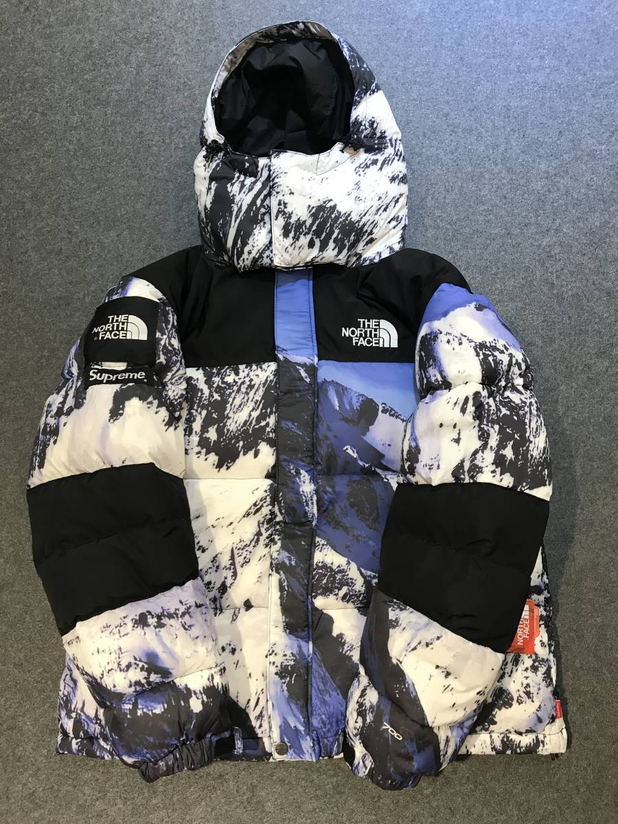 THE NORTH FACE+SUPREME ザ ノースフェイス Mountain Parka Lサイズ
