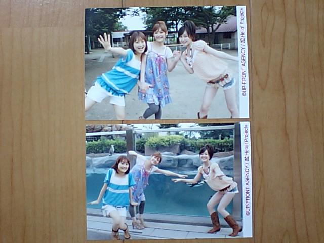 2008/11/29【高橋愛・久住小春・リンリン】リゾナント LIVE★ファイナルTシャツ写真