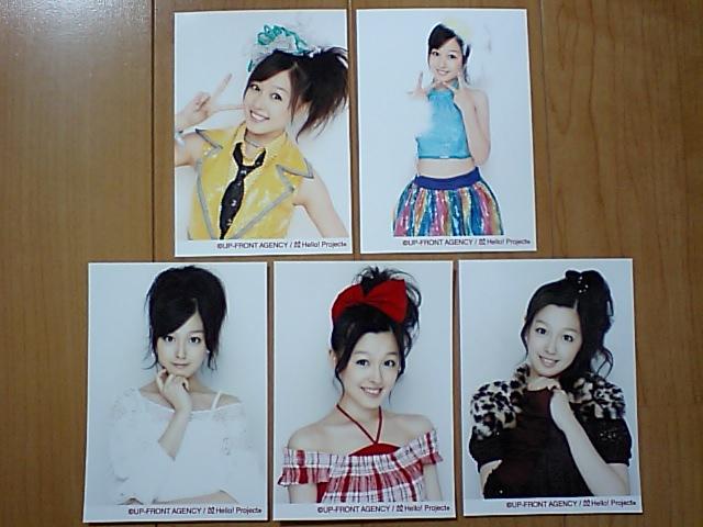 2008/11/29【久住小春】リゾナントLIVE☆梅田芸術劇場追加生写真ABCDE5枚