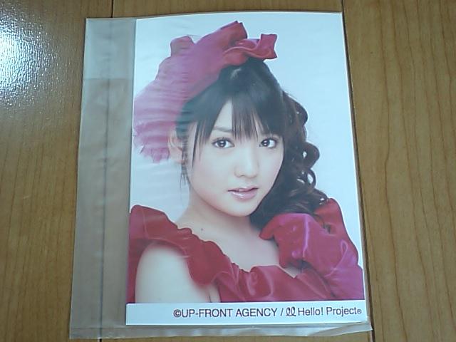 2008/5/17・18【道重さゆみ】ソロ生写真4枚セット☆シングル大全集