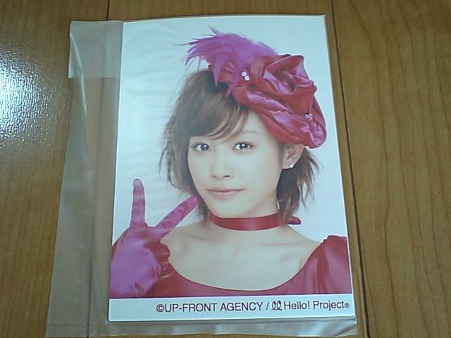 2008/5/17・18【高橋愛】ソロ生写真4枚セット☆シングル大全集