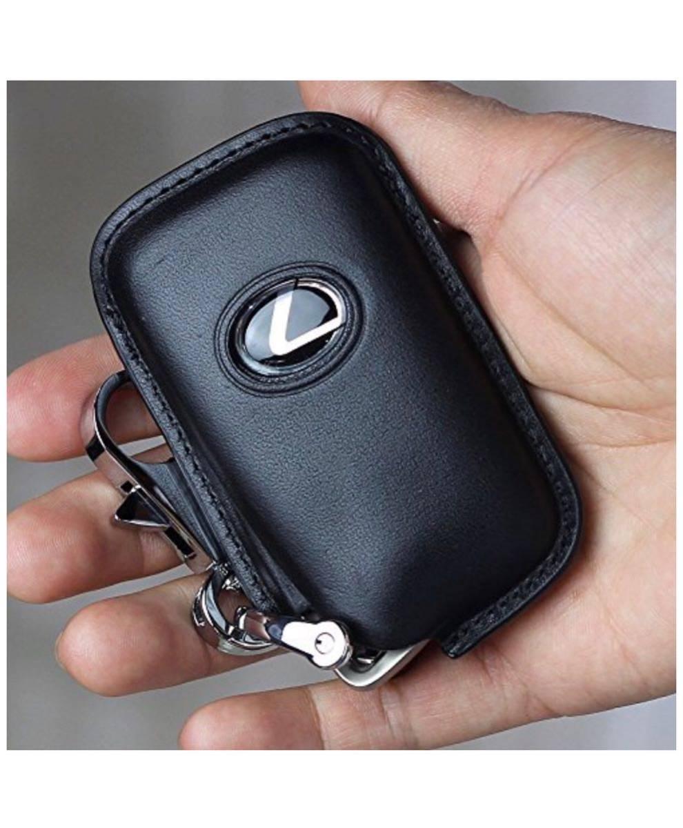 【1円スタート☆新品未使用】Lexus レクサス 高級 キーカバー スタイリッシュ 汚れ RC NX用 滑り 傷 防止 ブラック
