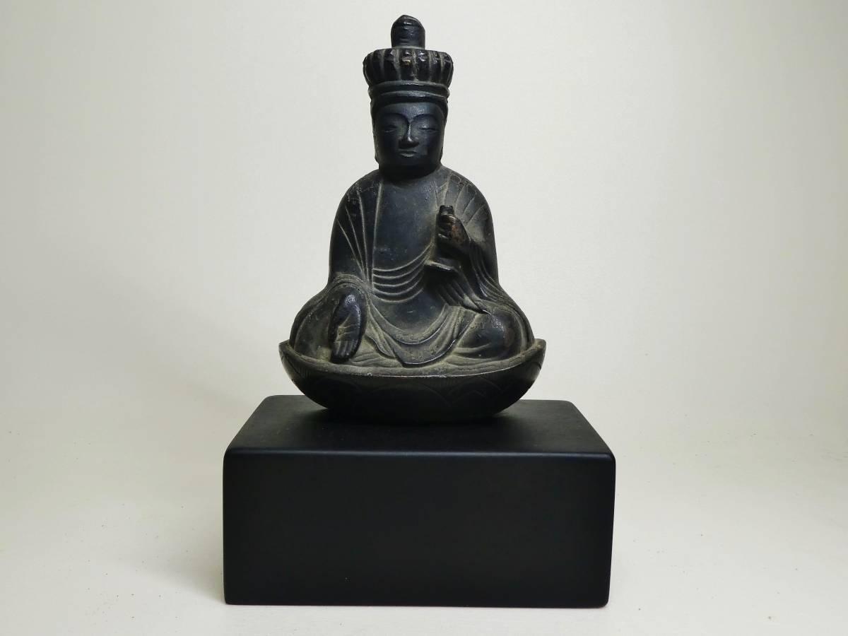 銅造十一面観音菩薩坐像懸仏(鎌倉時代)