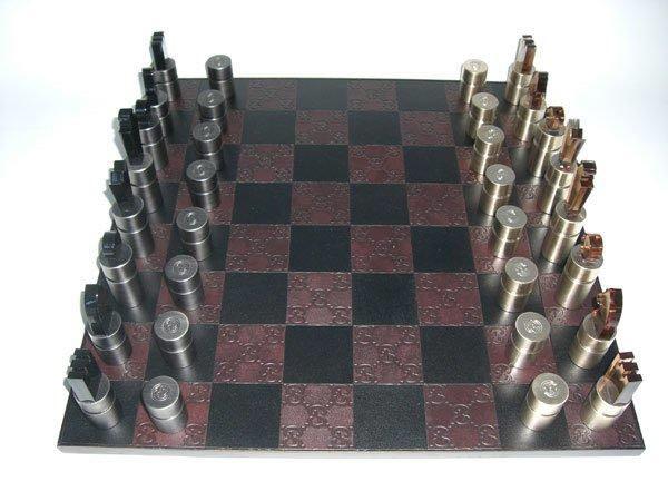 グッチgucciチェス盤chess希少価値レア!_画像1