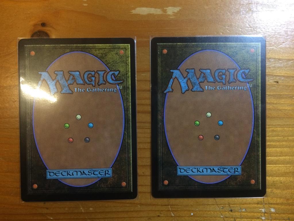 MTG 意思の力 force of will foil  マスターピース 2枚セット 日本語版BOX アモンケット マジック;ザ・ギャザリング_画像2