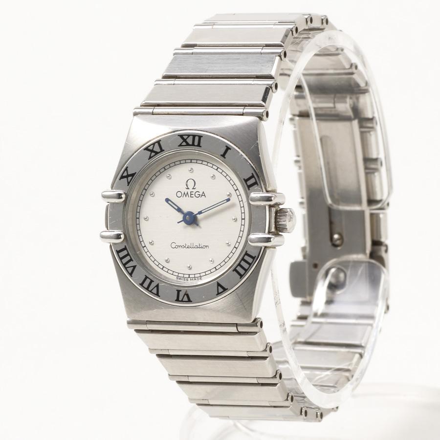 super popular 3400f 947e3 オメガ OMEGA コンステレーション レディース クォーツ 腕時計 電池交換済