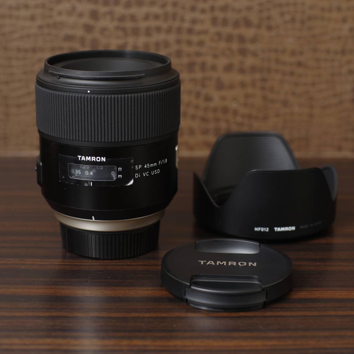 SP 45mm F/1.8 Di VC USD Nikon用 + Zeta Protector