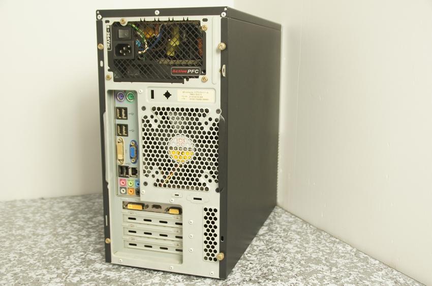 【ジャンク】excomputer BTOパソコン Core i5-650 3.2Ghz 自作PC_画像2