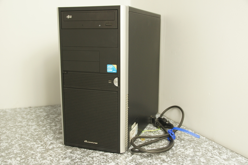 【ジャンク】excomputer BTOパソコン Core i5-650 3.2Ghz 自作PC