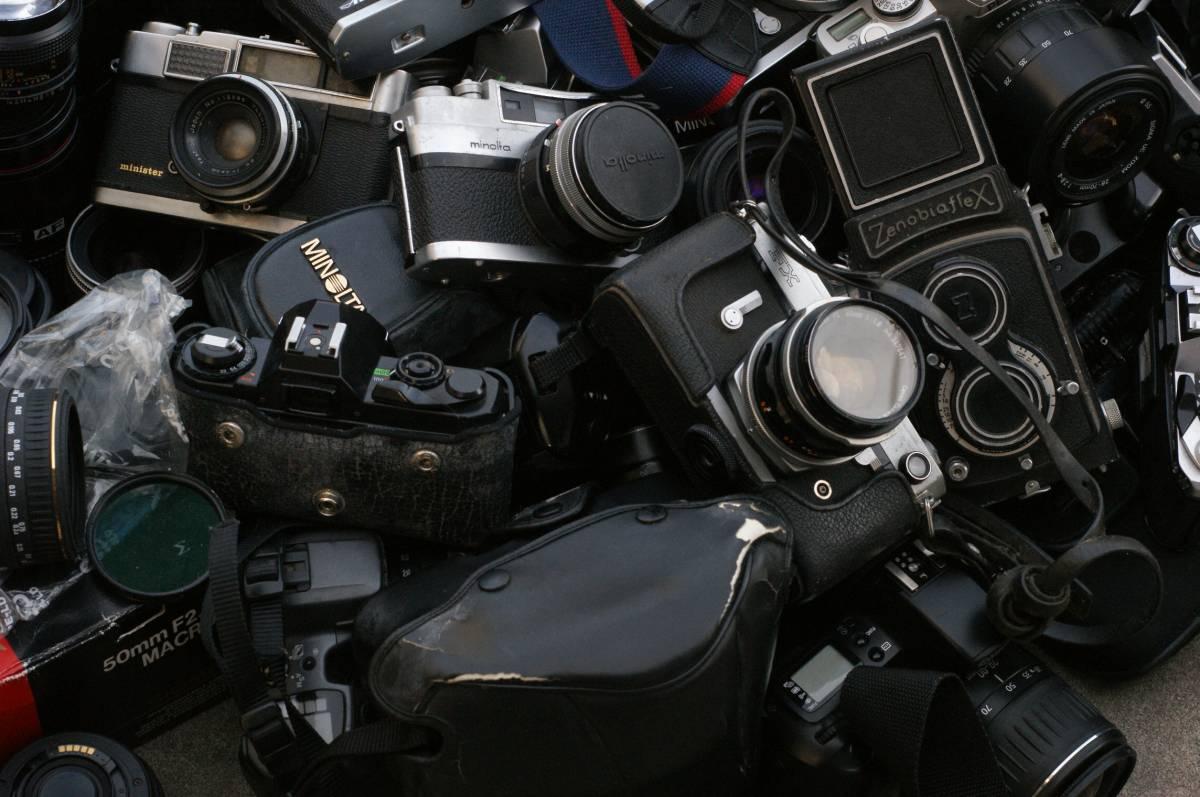 レンズ付き一眼21台山盛り完全ジャンクセット_画像9