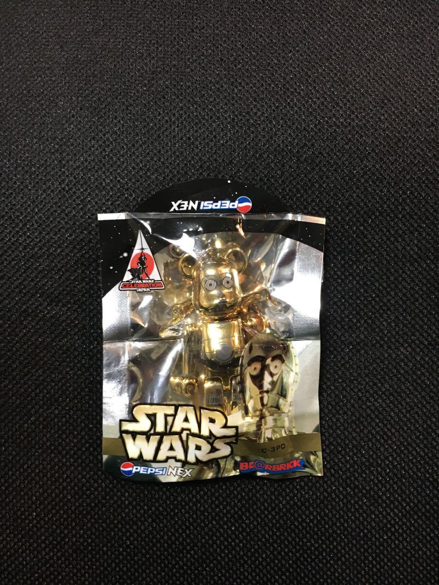ベアブリック/スターウォーズ/C-3PO/2008 ペプシ ノベルティ/70%_画像1