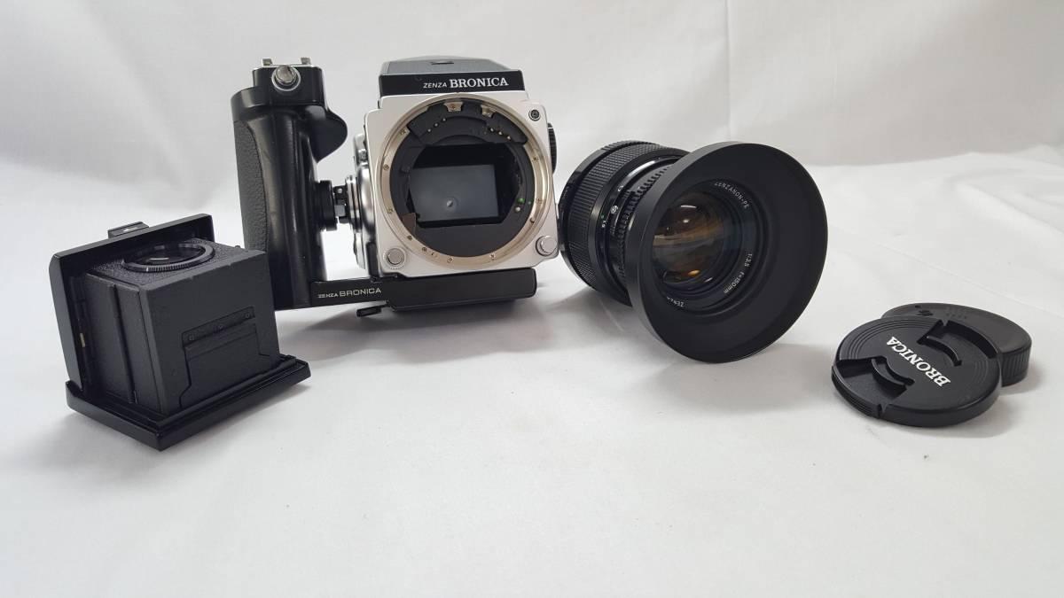 ZENZA BRONICA ETR M52 16837. ZENZANON-PE 1:3.5 f=150mm 15800769 ゼンザブロニカ 美品 レンズ+付属 (A-67)_画像9