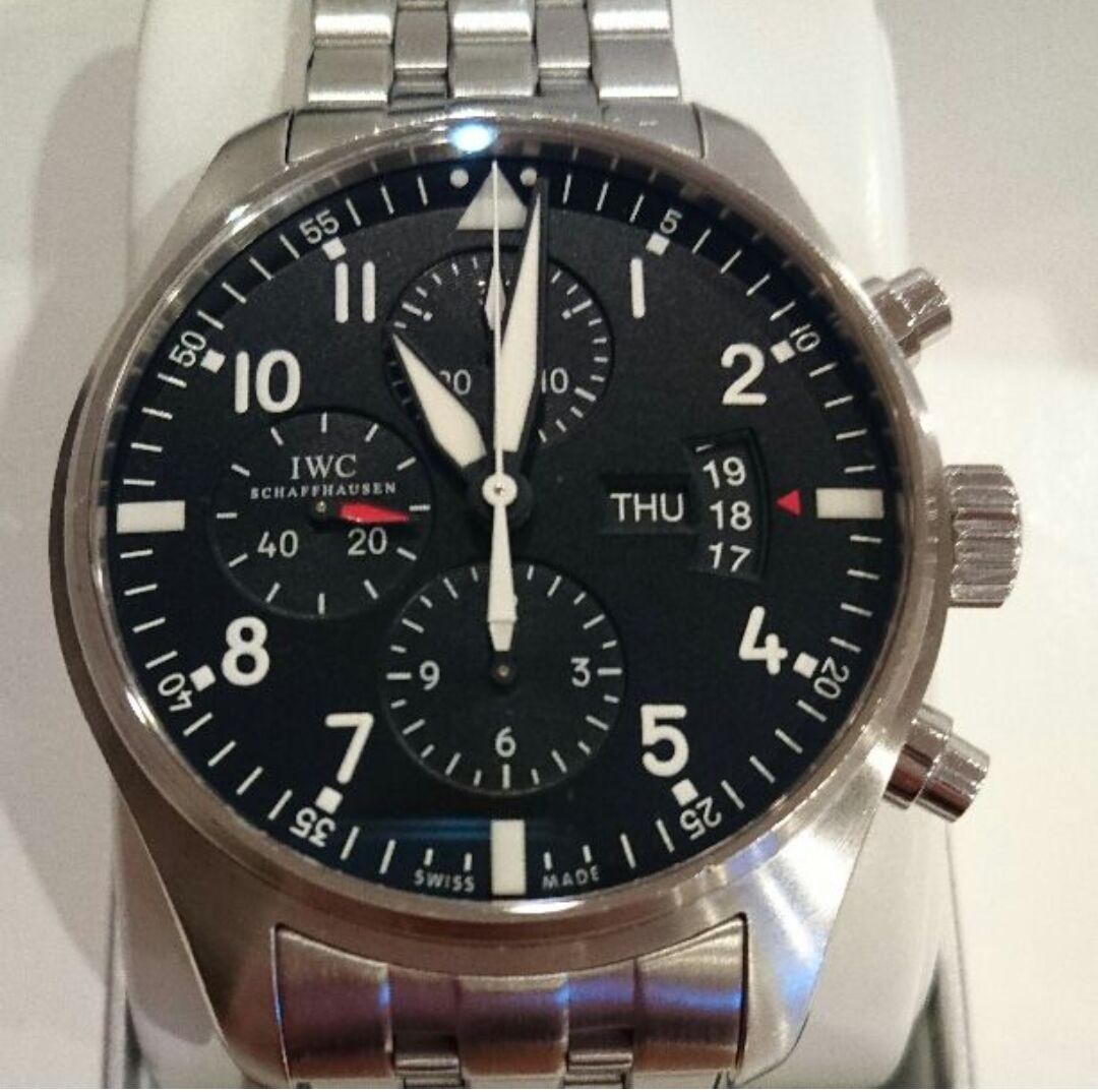 IWC パイロットウォッチ Ref. IW377704 クロノグラフ 腕時計