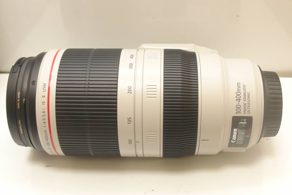 CANON EF100-400mm F4.5-5.6L IS II USM フィルター付 送料無料