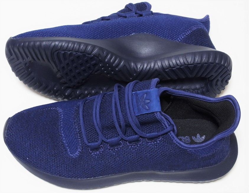 adidas TUBULAR SHADOW KNIT 紺 ネイビー ブルー 27cm アディダス オリジナルス チュブラー シャドウ ニット BB8825_画像3