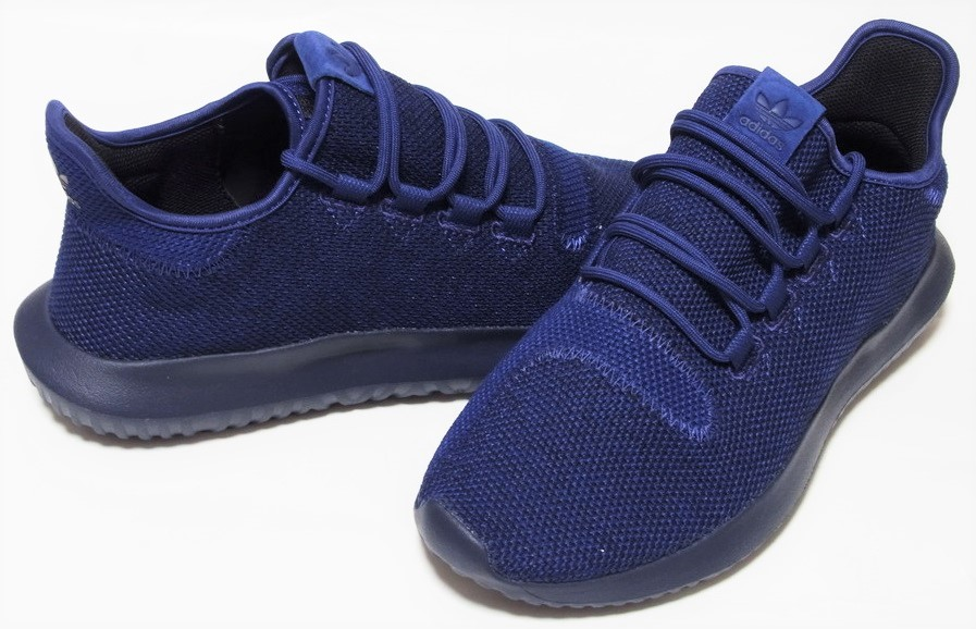 adidas TUBULAR SHADOW KNIT 紺 ネイビー ブルー 27cm アディダス オリジナルス チュブラー シャドウ ニット BB8825_画像1