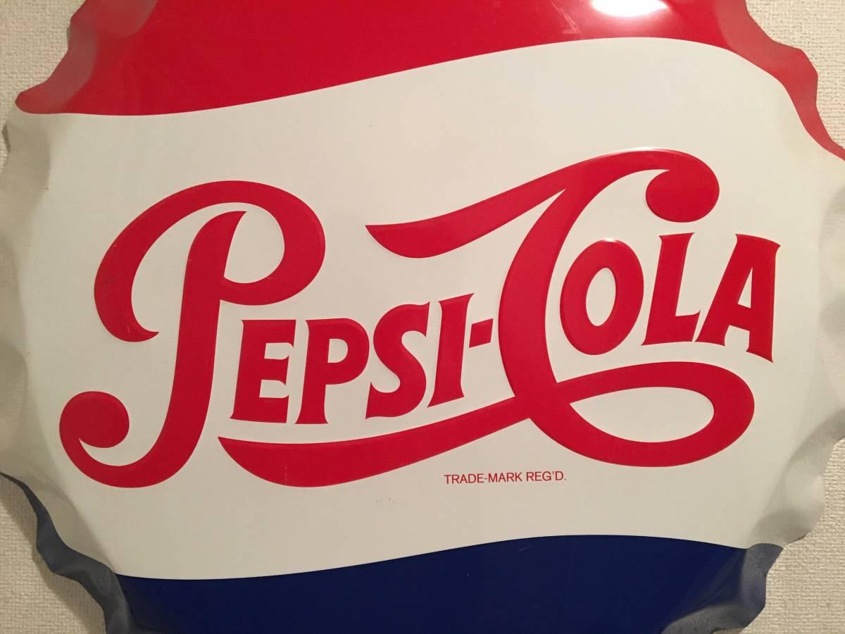 アンティーク PEPSI ペプシ コーラ 王冠 ビンテージ 看板 琺瑯 レトロ サイン NIGO_画像2