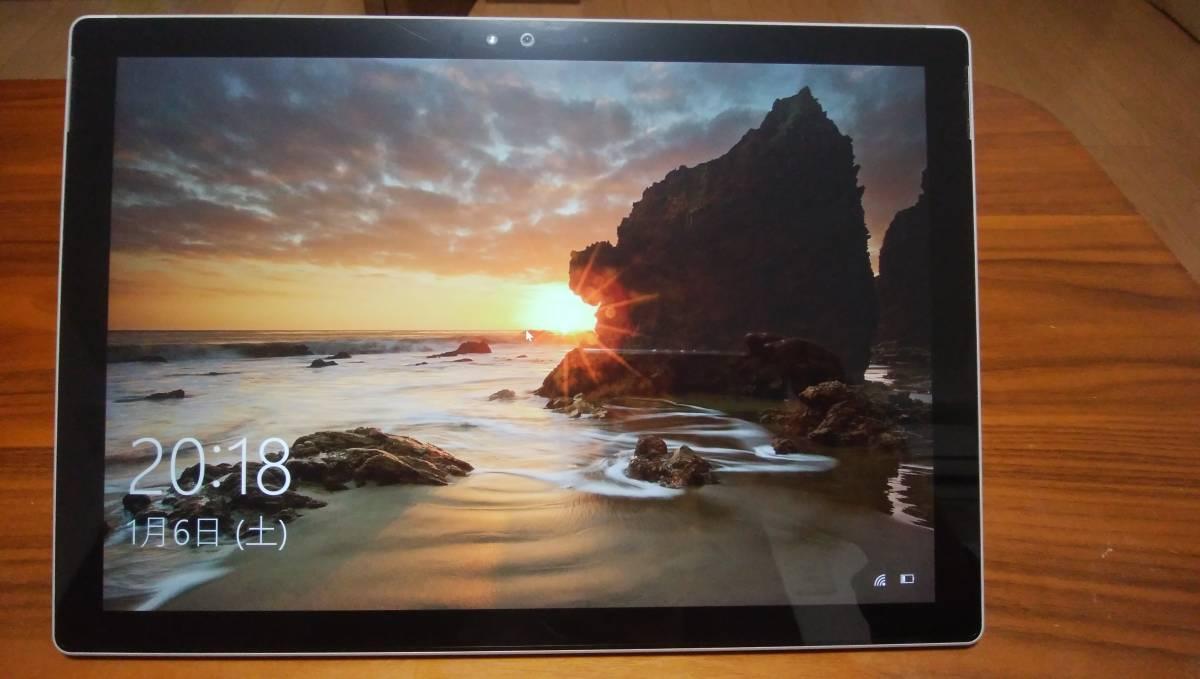 Microsoft タブレットPC Surface Pro 4 SU3-00014 (Core m3) 美品 送料込みです。