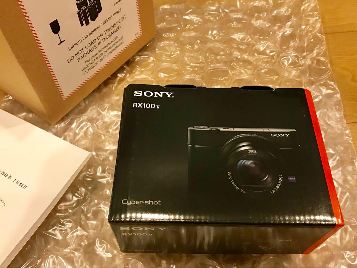 新品 SONY ソニー DSC-RX100M5 保証長い
