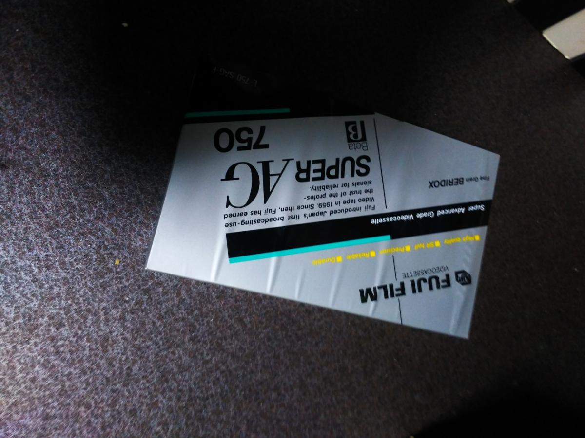 中古新品合わせベータBataビデオテープおよそ36本ソニーTDKFUJIスコッチ750 l500_画像5