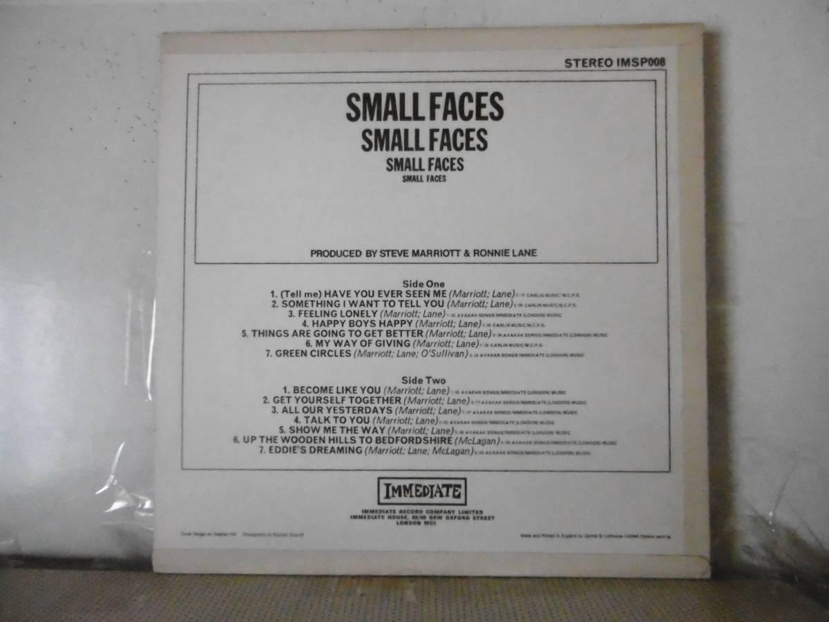 UK Orig    SMALL FACES      美品盤_画像2