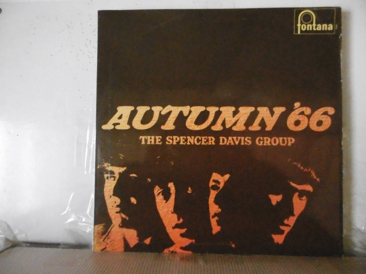 UK Orig  SPENCER DAVIS GROUP   AUTUMN66
