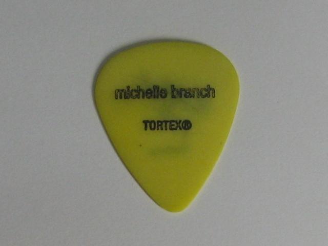 ★ミシェル・ブランチ Michelle Branch 2002 Spirit Room Tour ギターピック